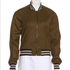 TORN BY RONNY KOBO Embroidered Bomber Jacket